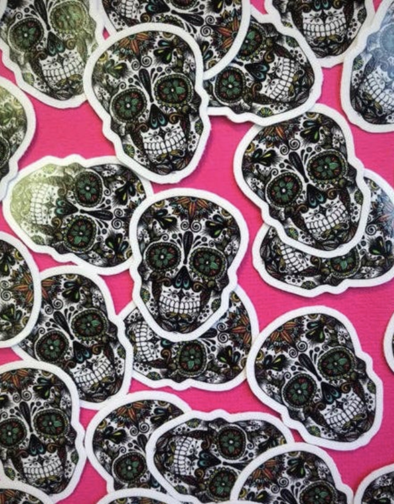 Mini skull sticker (ms13)