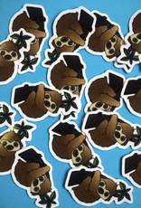 Mini sloth sticker (ms12)
