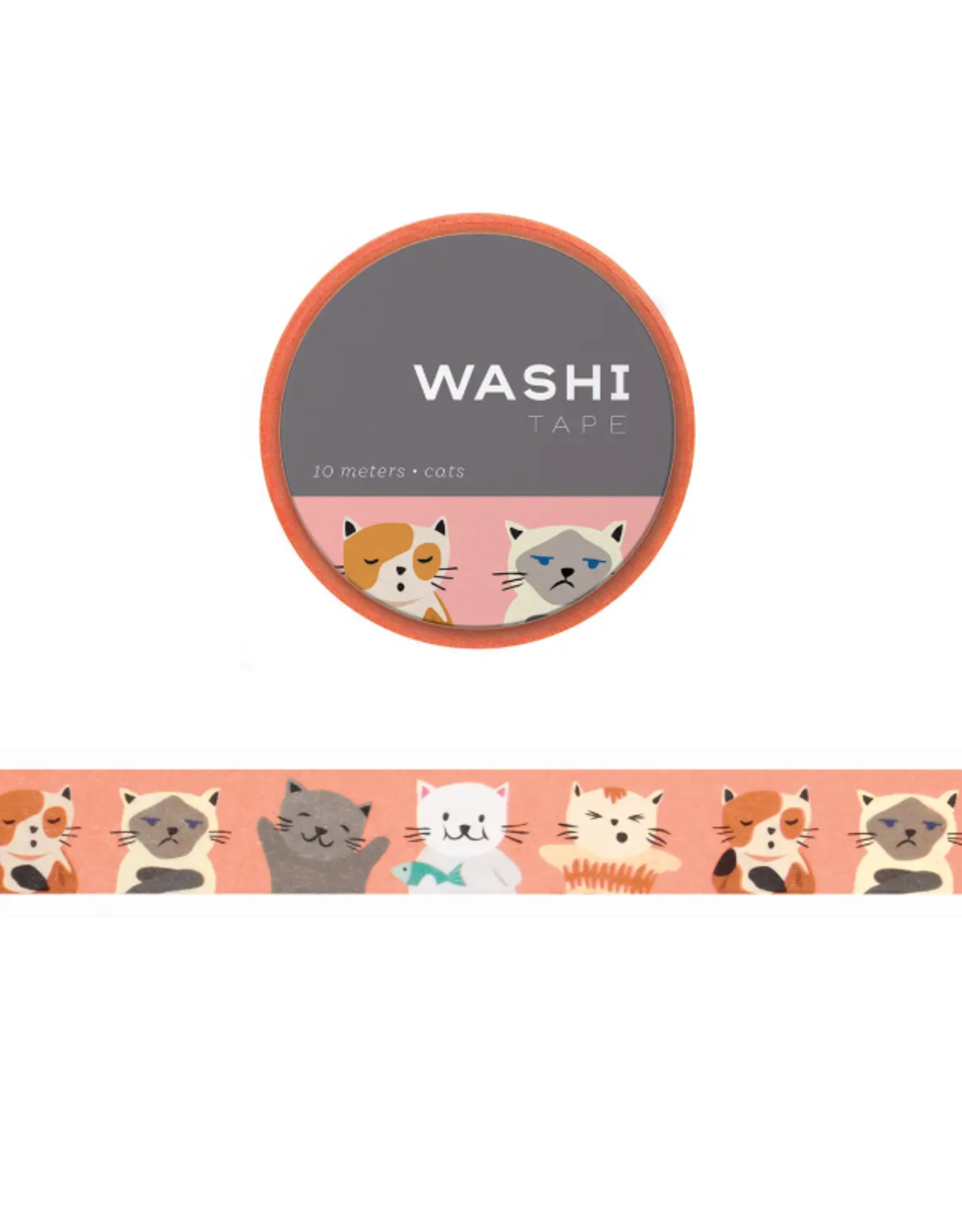 Girl of All Work Cats washi tape