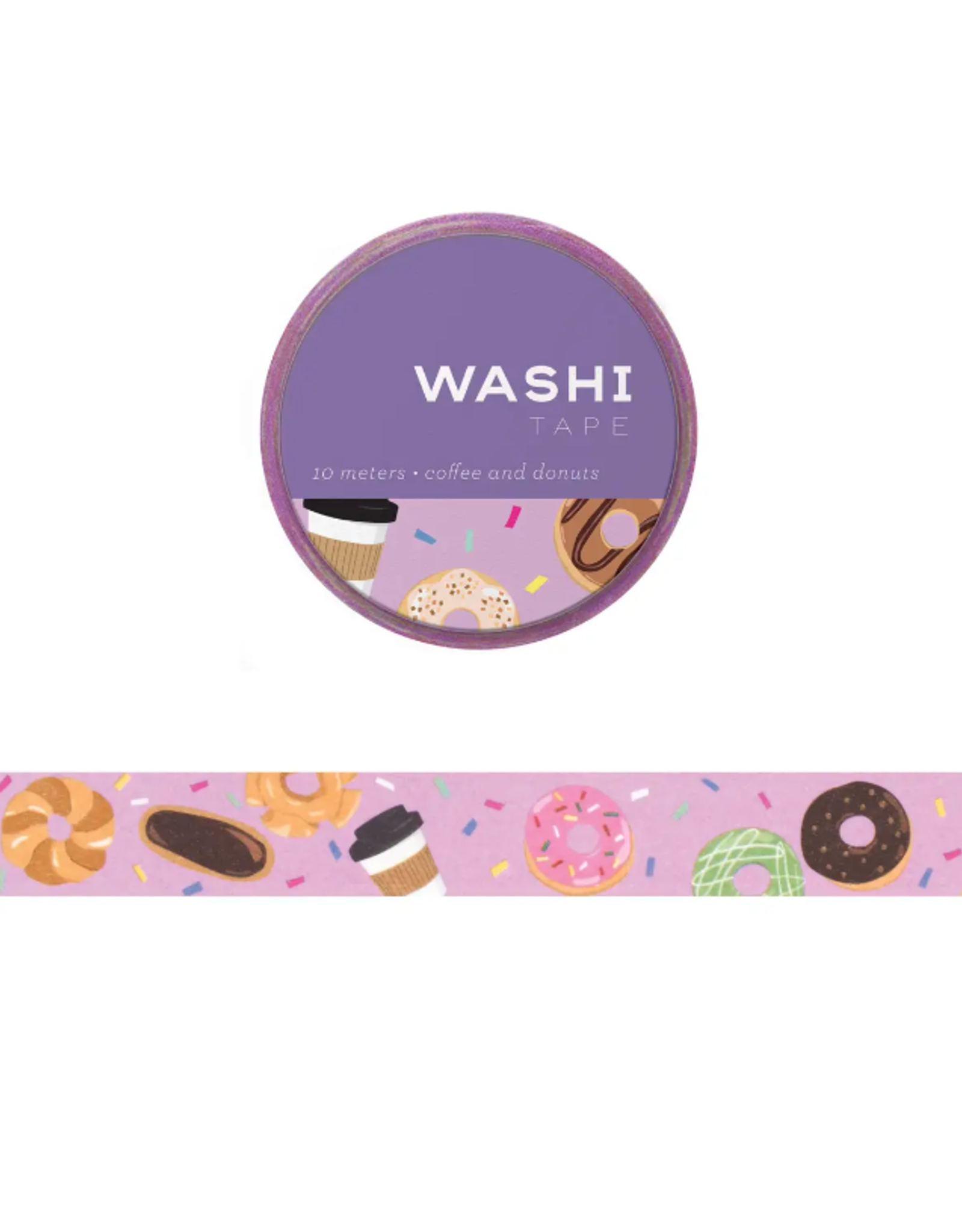 Girl of All Work Coffee and donuts washi tape