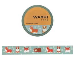 Girl of All Work Corgis washi tape