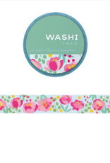 Girl of All Work Flower arrangment washi tape