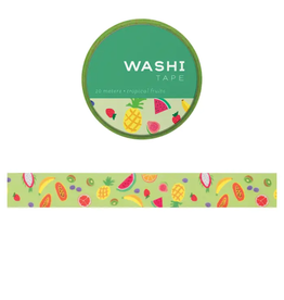 Girl of All Work Tropical fruits washi tape