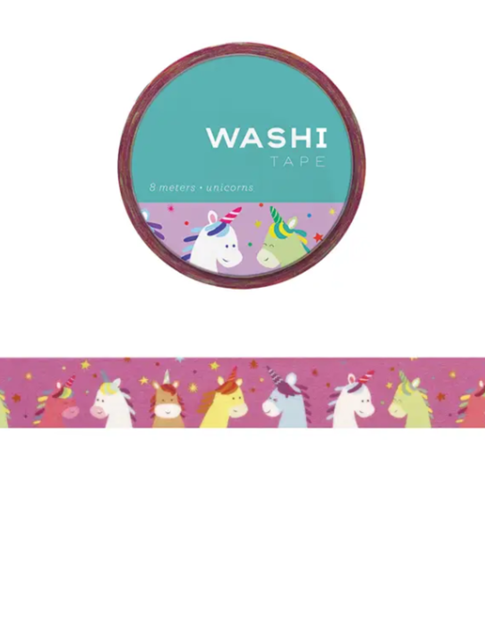 Girl of All Work Unicorns washi tape