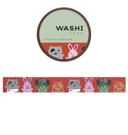 Girl of All Work Zombie pets washi tape