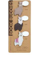 Girl of All Work Lovable llamas book buddies