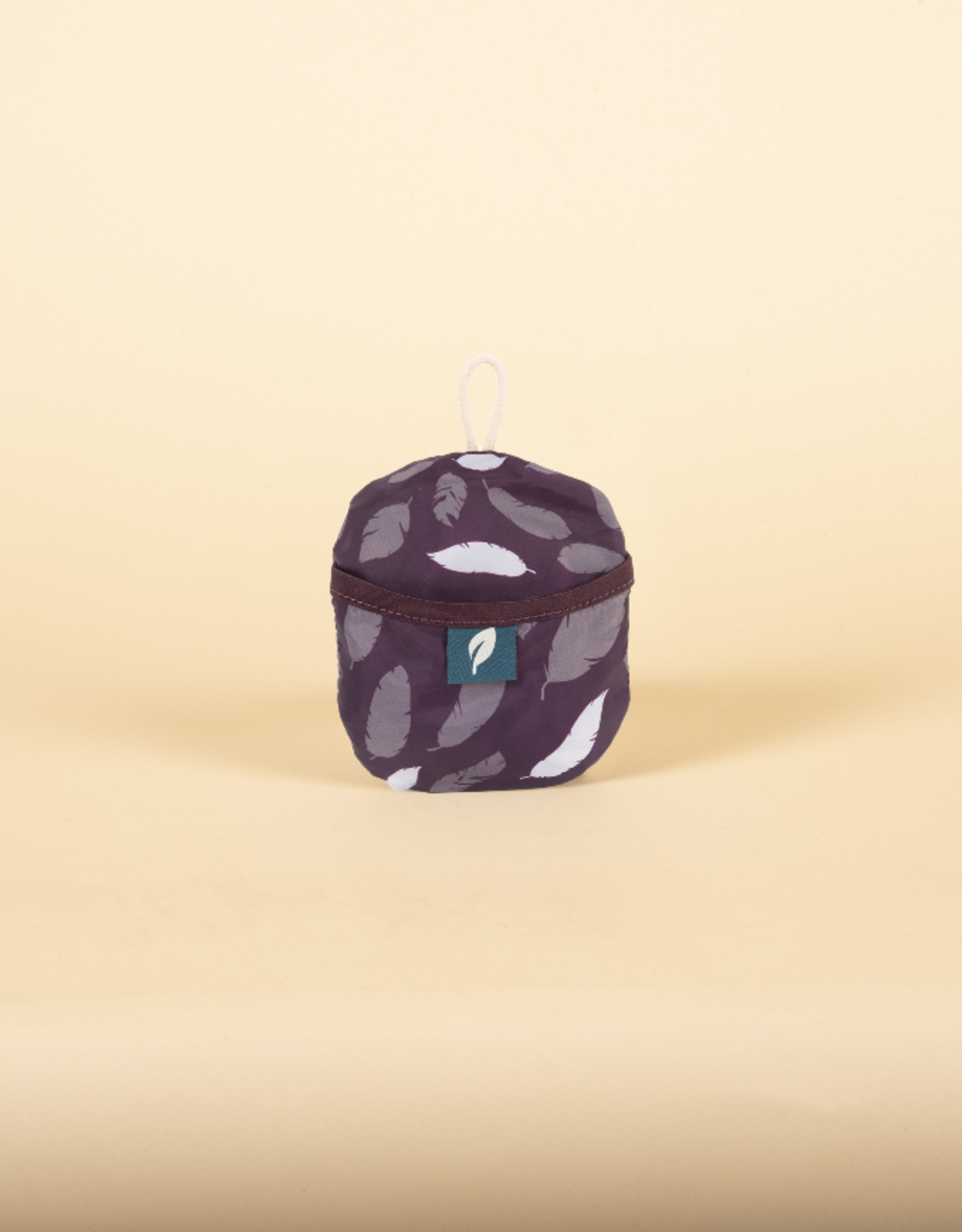 Bloom Packable Tote- Plum Feather