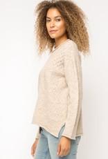 Rolled Hem sweater