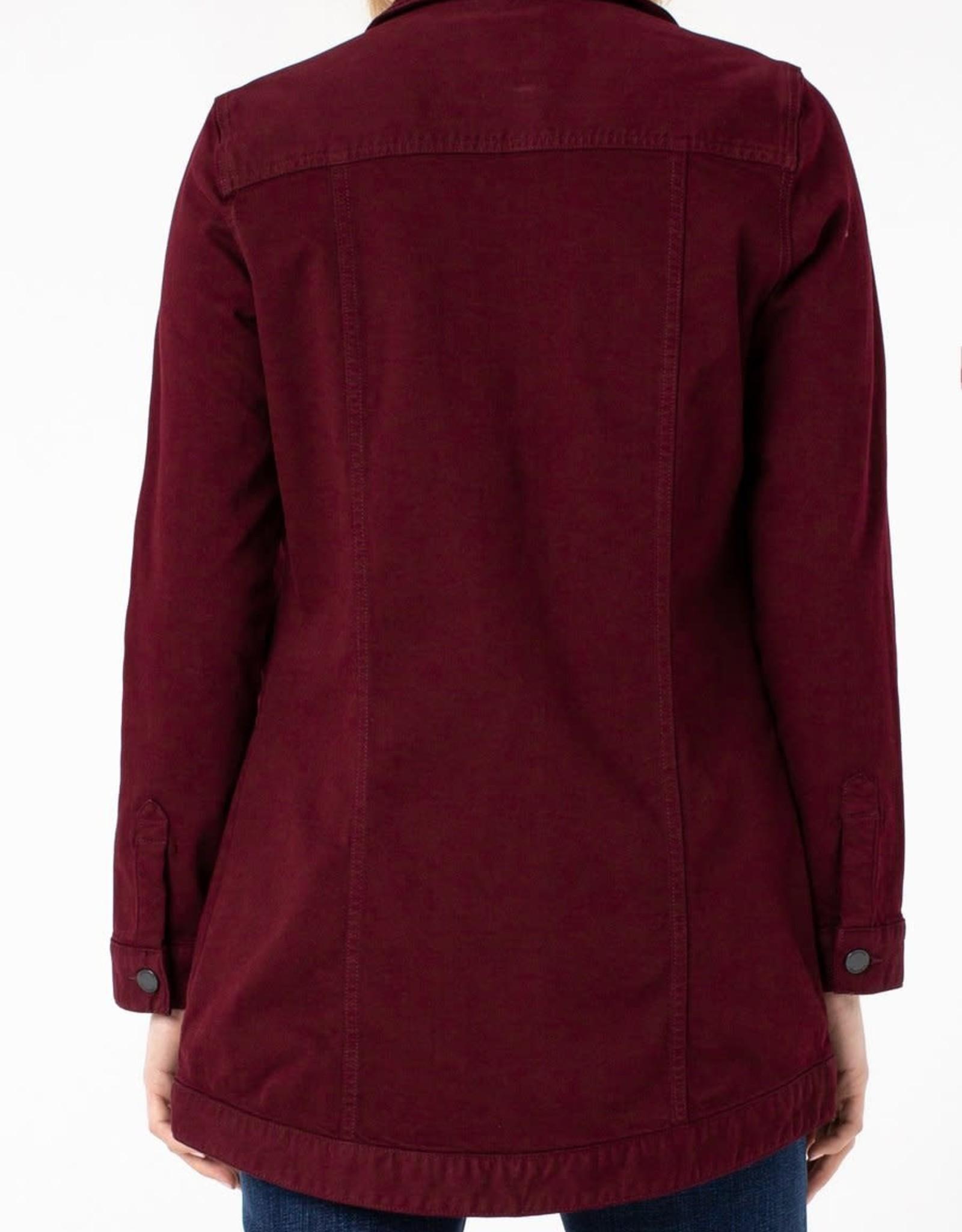 Liverpool Hi-Lo Shirt Jacket