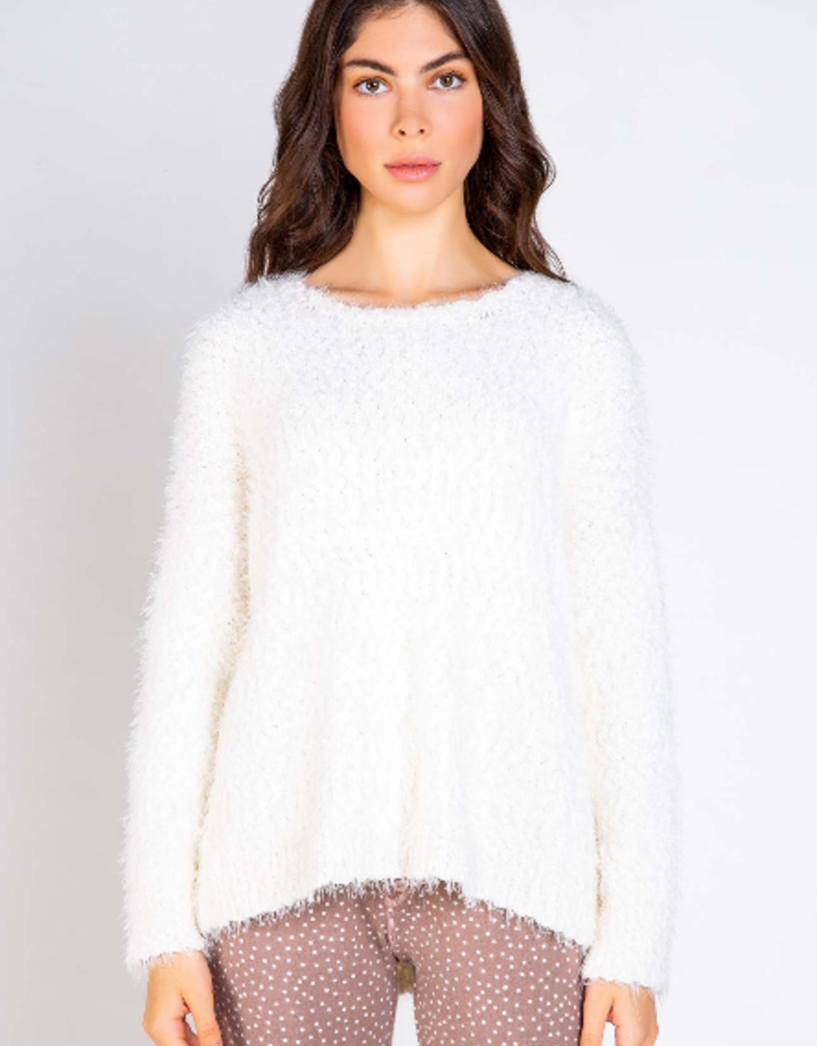 PJ Salvage Snuggly Eyelash sweater