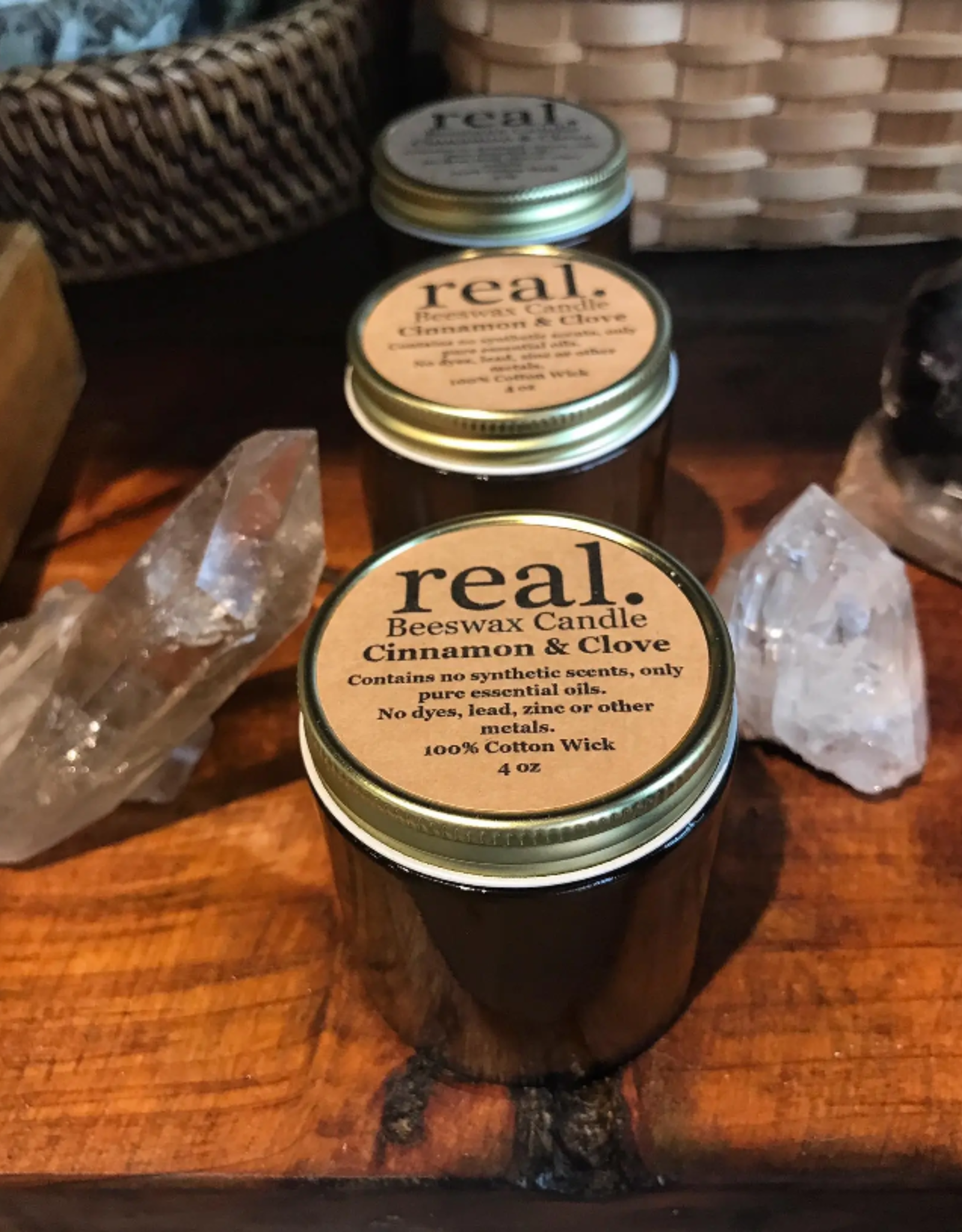 Real Cinnamon clove candle