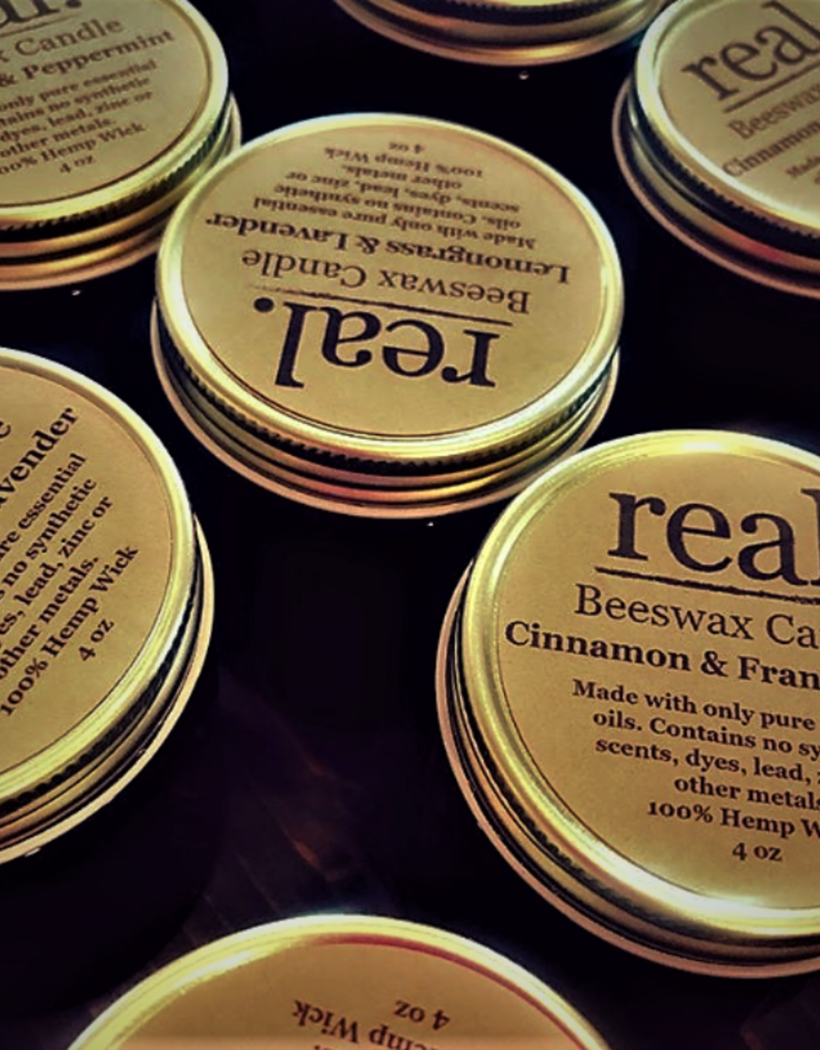 Real Lemongrass lavender candle