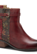 Kanessa red leather boot