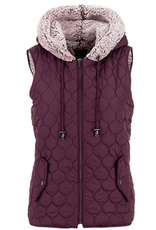 Sherpa Quilted Vest
