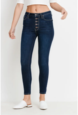Letter to Juliet Verona Button Fly Jean- Dark