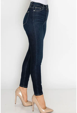 "Letter to Juliet Amore High Rise (11"") Skinny Jean- Dark"