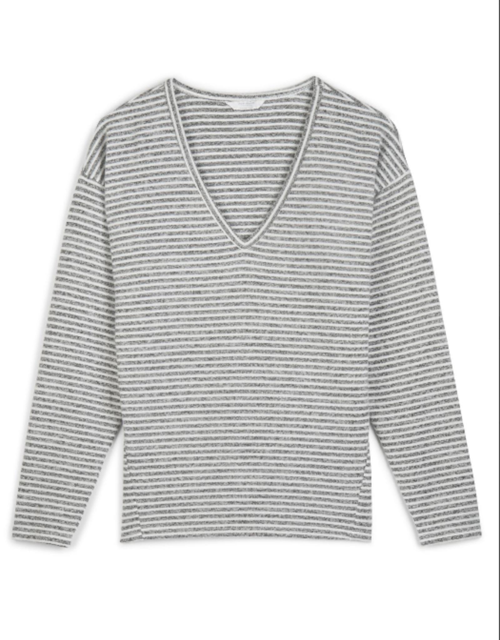 Grey stripe cloud jersey
