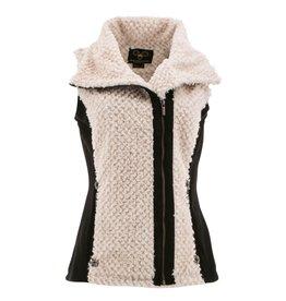 Wooly Bully Vibrant Vest- Black