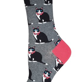 Sock Smith Tuxedo Cat socks