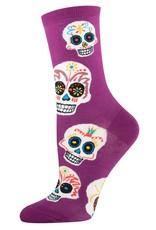Big Muertos skull socks