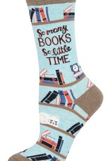 Sock Smith Time for a Good Book socks