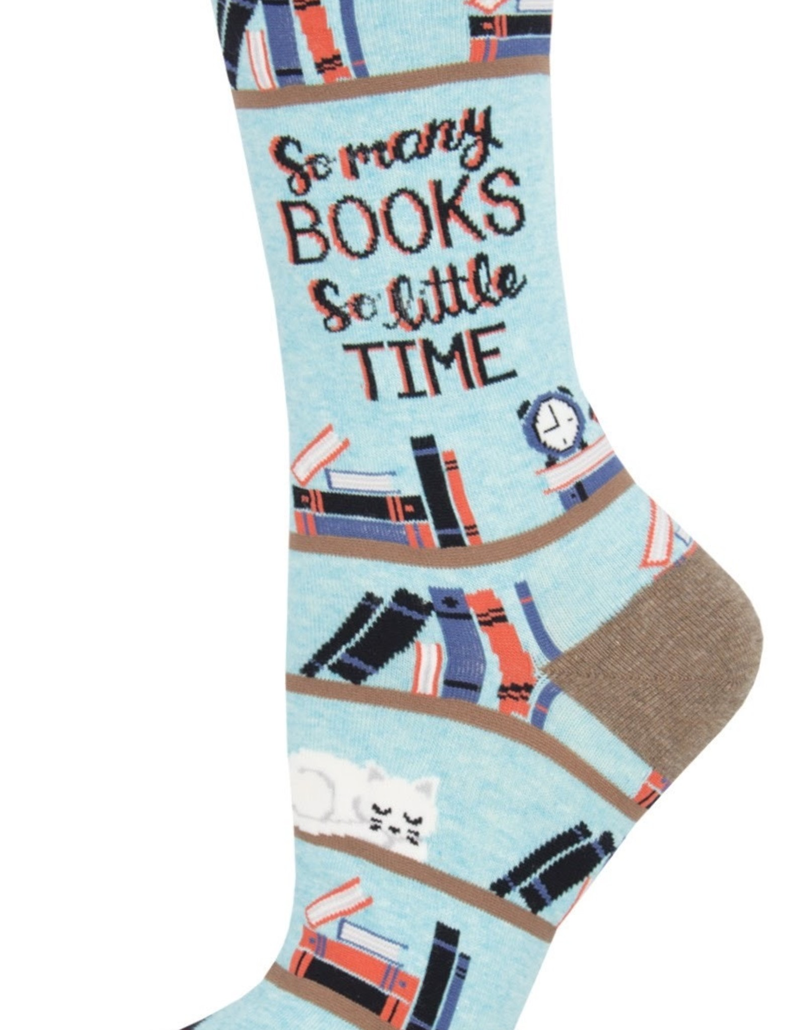 Time for a Good Book socks