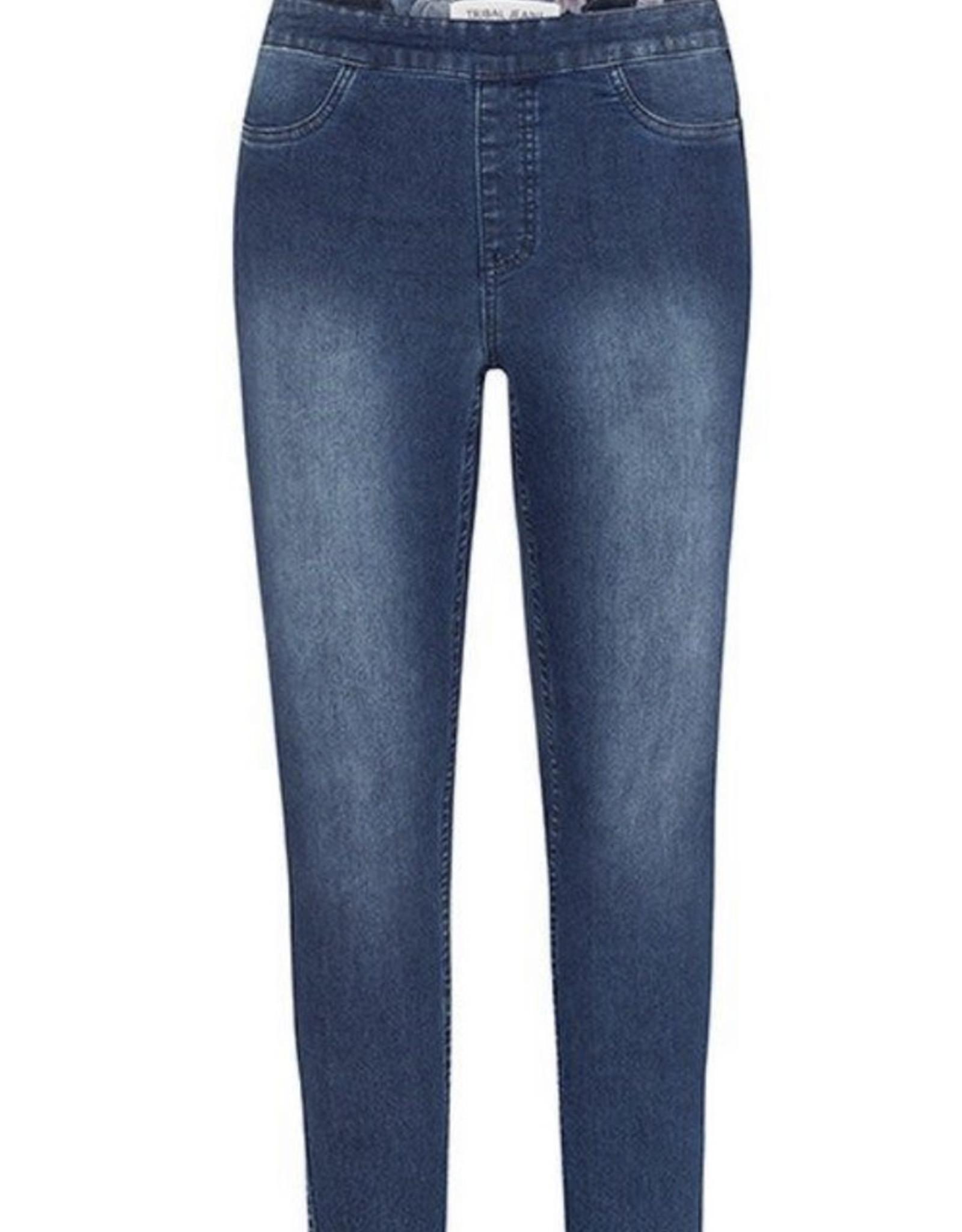 Reversable skinny jeans