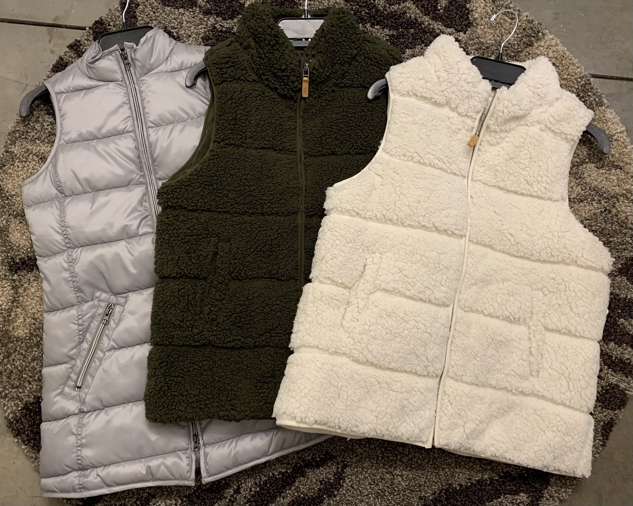 Cozy vests
