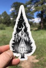 sticker art Cabin Sticker