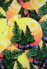 Mini nature sticker (ms15)