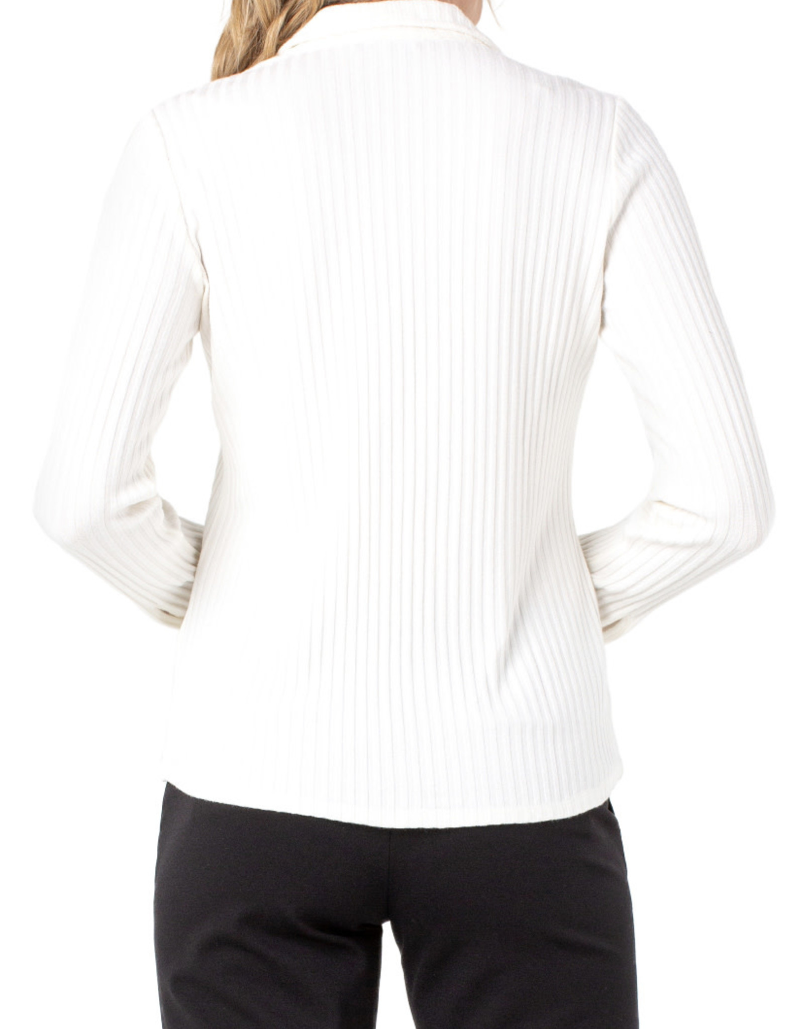 Liverpool Ribbed Button top