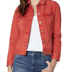 Liverpool Classic Jean Jacket- red