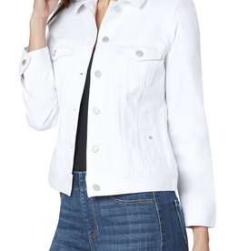 Liverpool Classic Jean Jacket- white