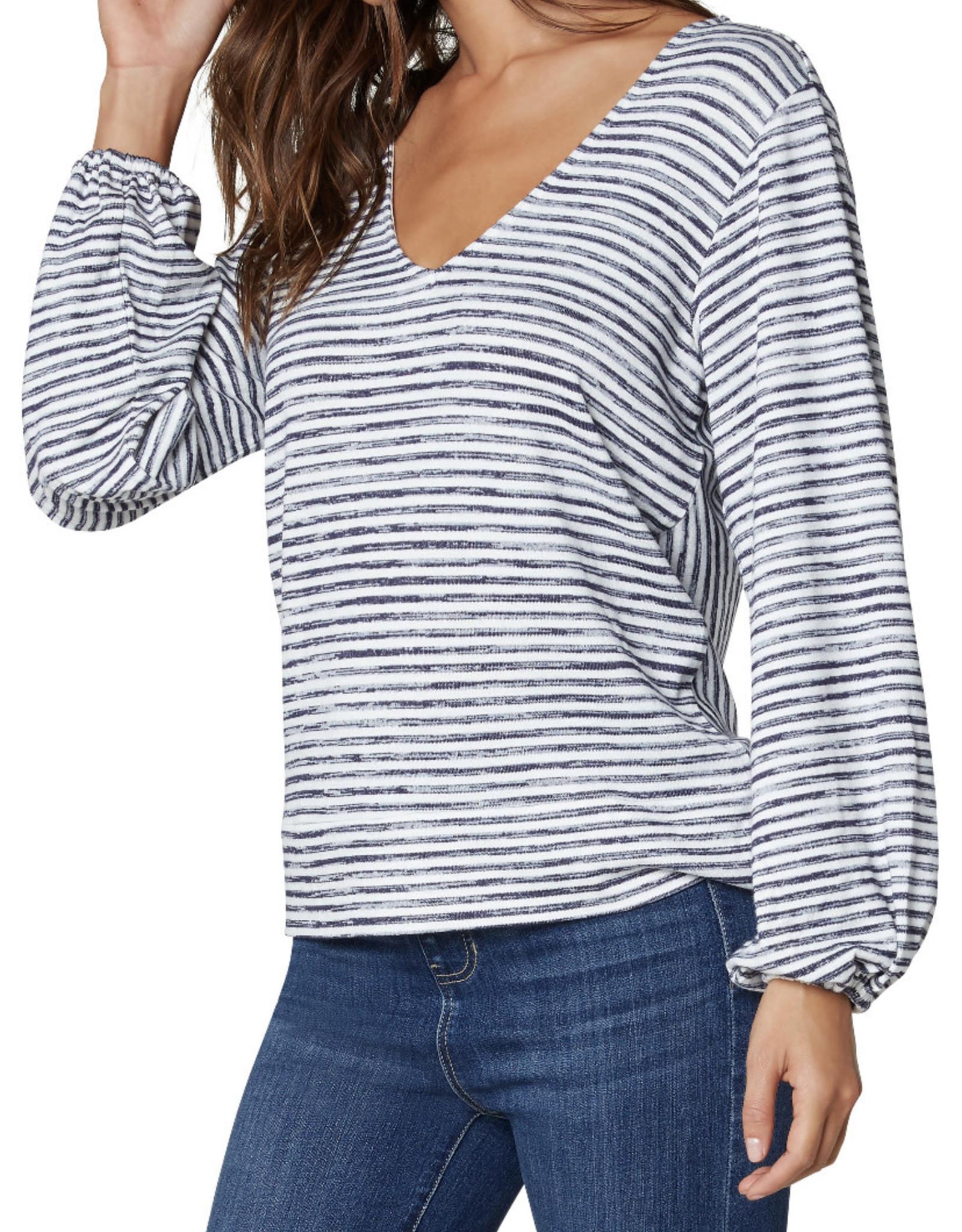 Liverpool Twist back l/s knit top