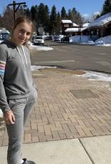 PJ Salvage Color stripe hoodie