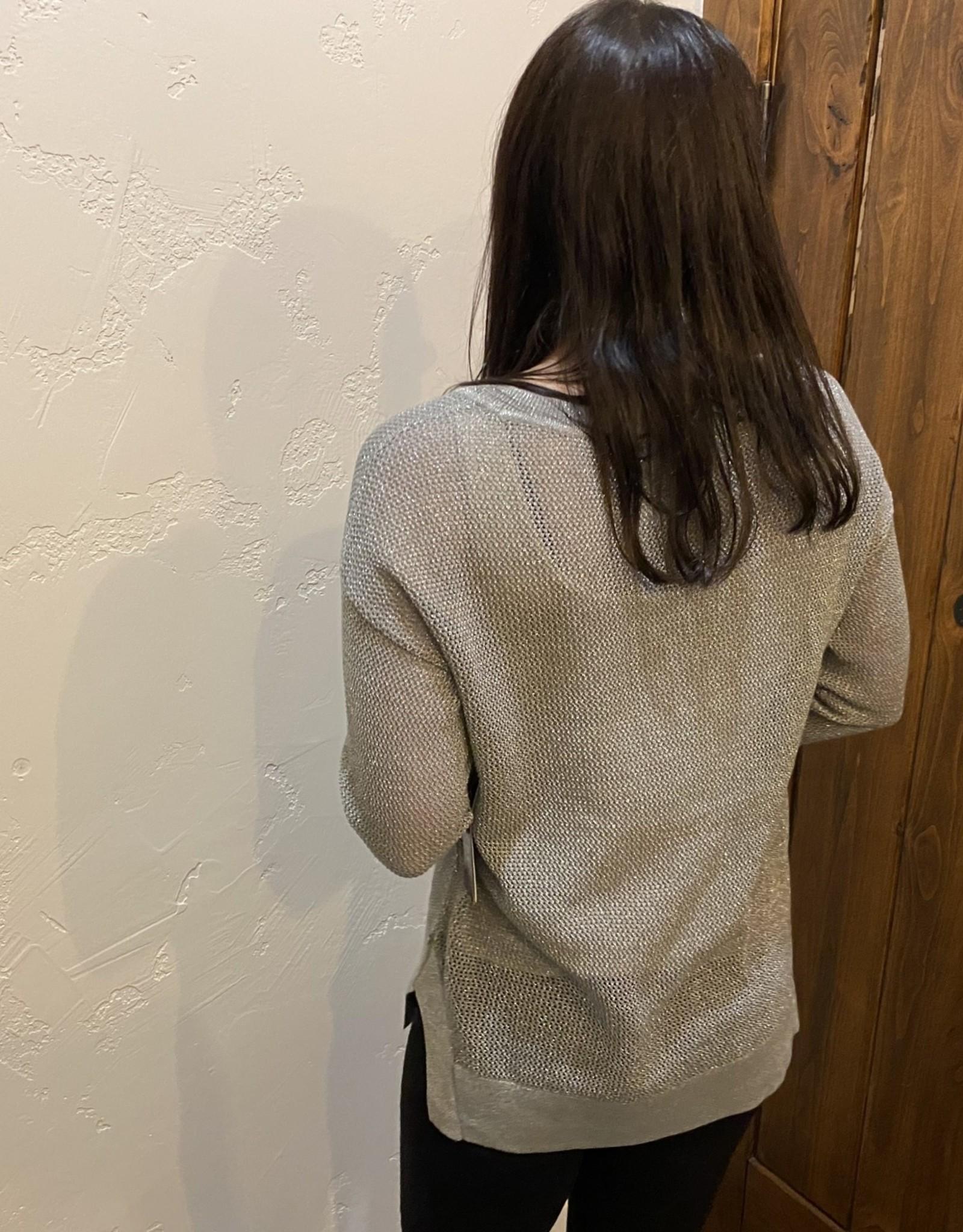 Drop shoulder sweater Cactus