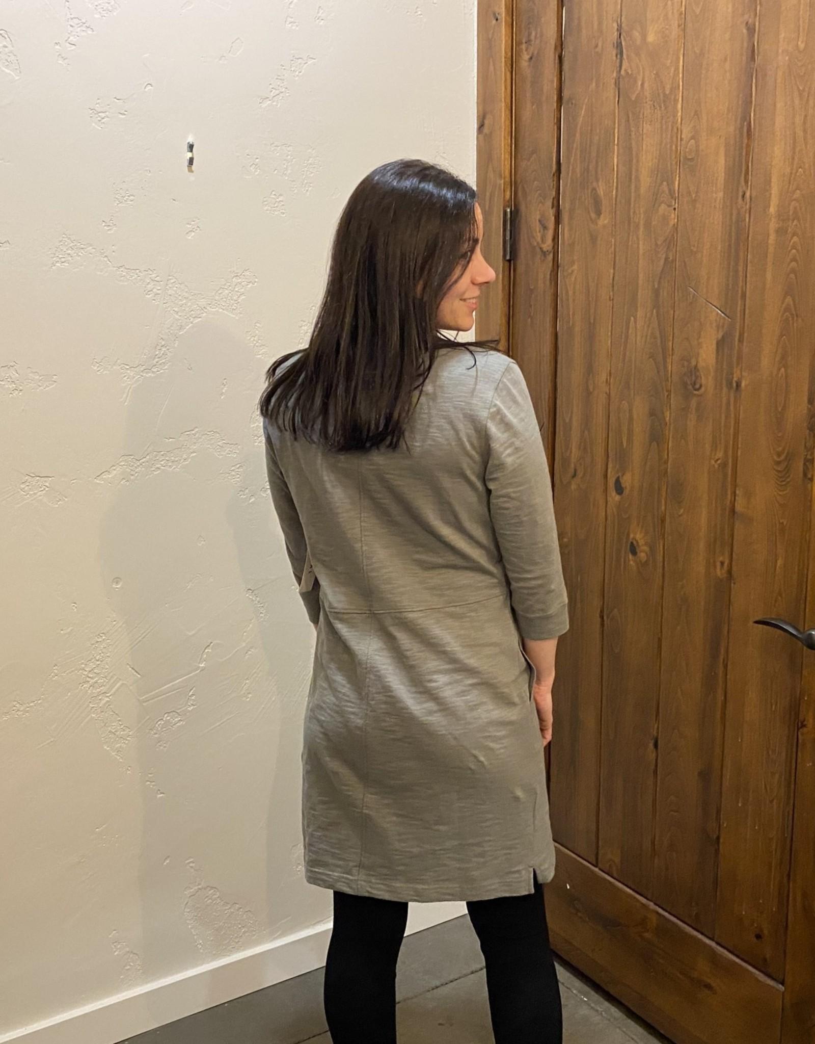 3/4 sleeve cargo dress Cactus