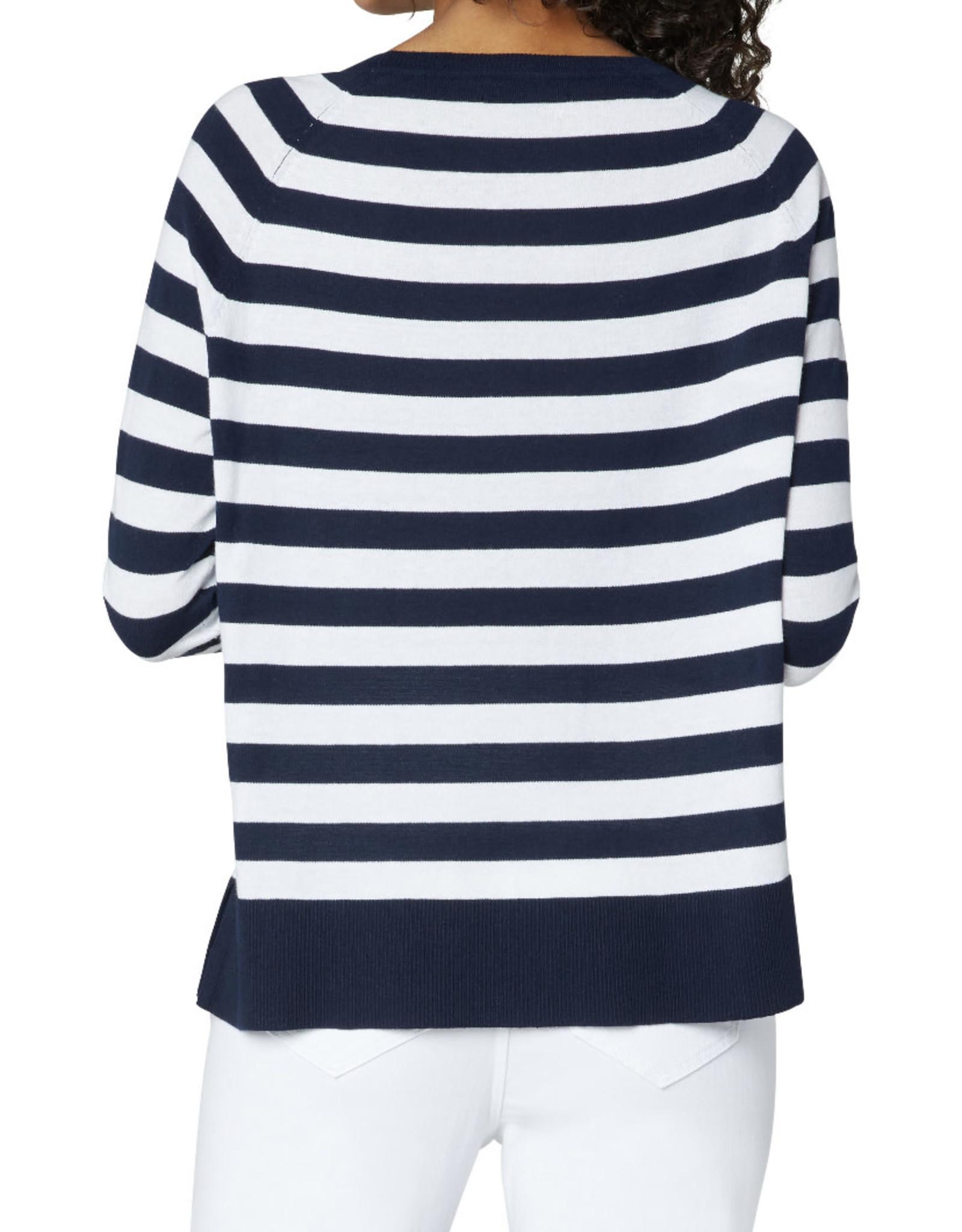 Liverpool Striped raglan sweater