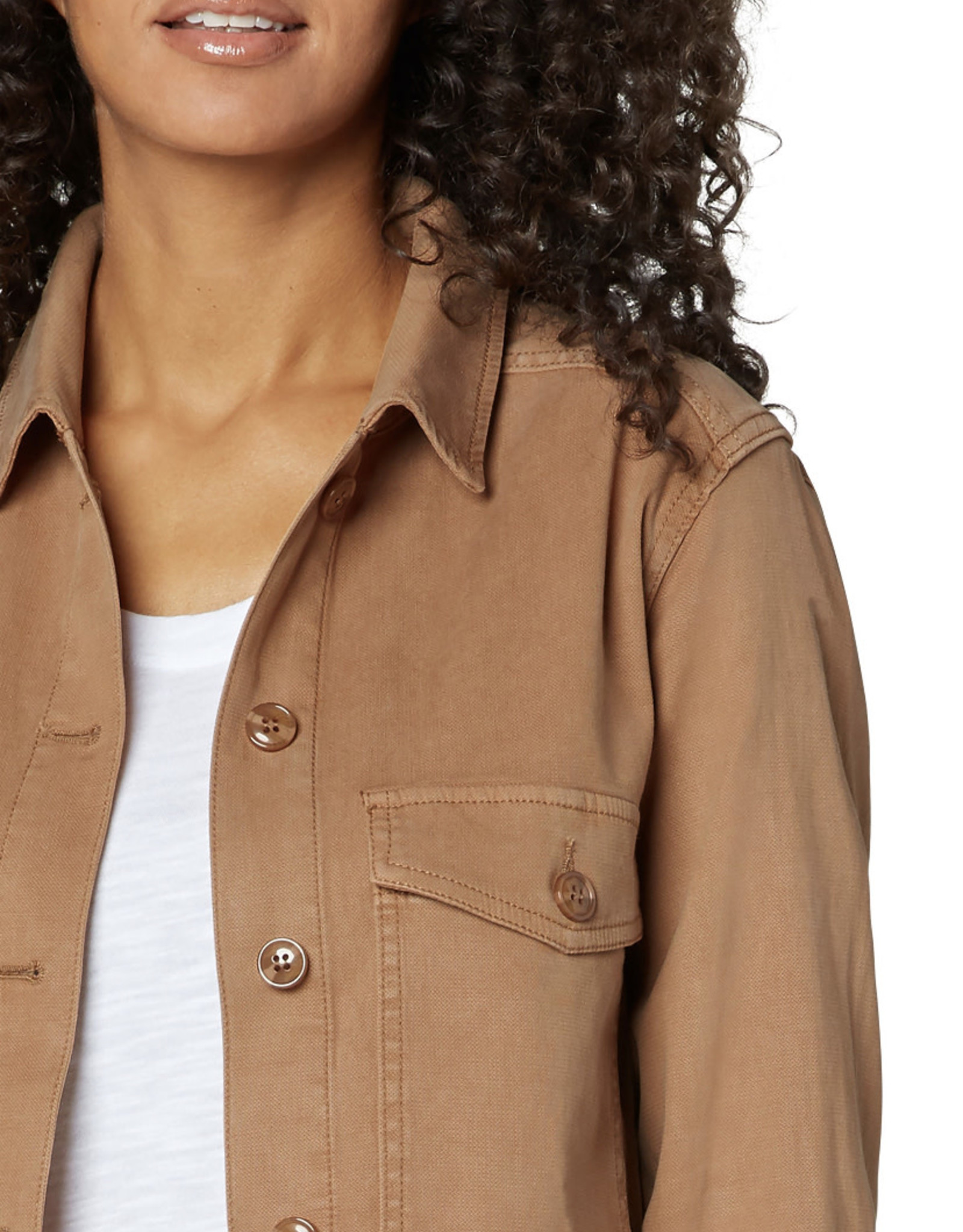 Liverpool Jacket w/ patch pockets Maple Sugar