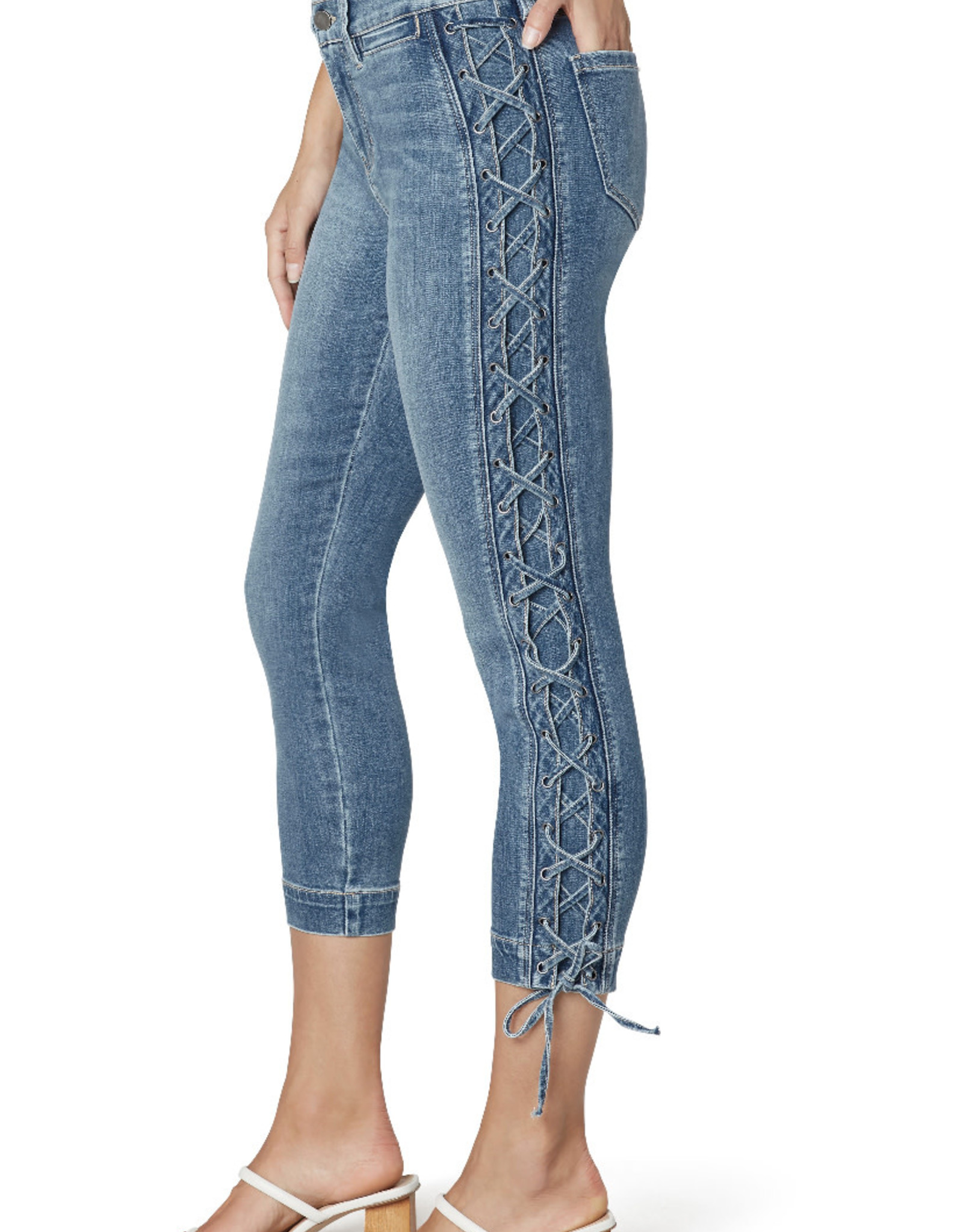 """Liverpool Abby crop skinny lace-up 26"""""""