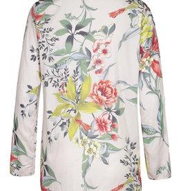 Roll sleeve blouse Dandelion