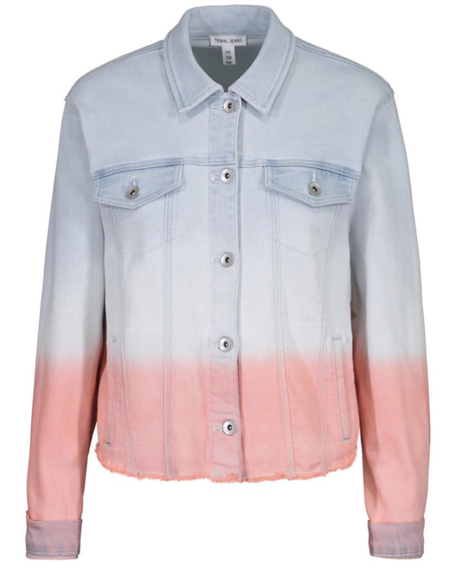 Jean jacket Peach Tulip