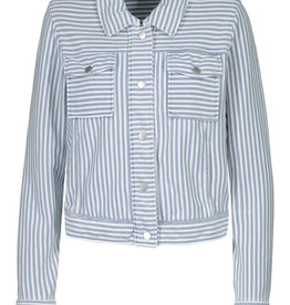 Striped jacket Baby Blue