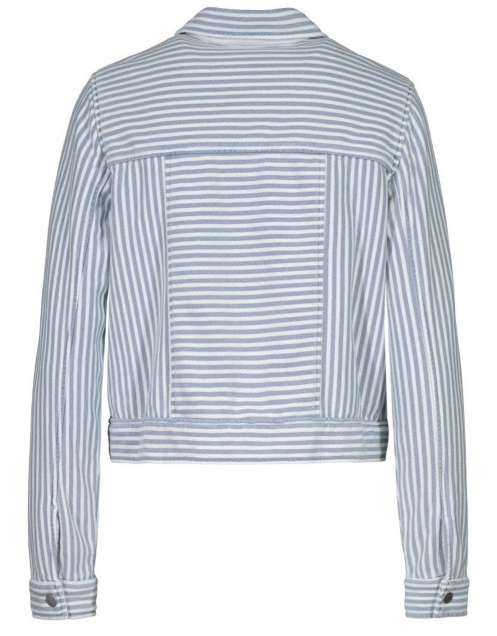 Striped jacket Baby Blue