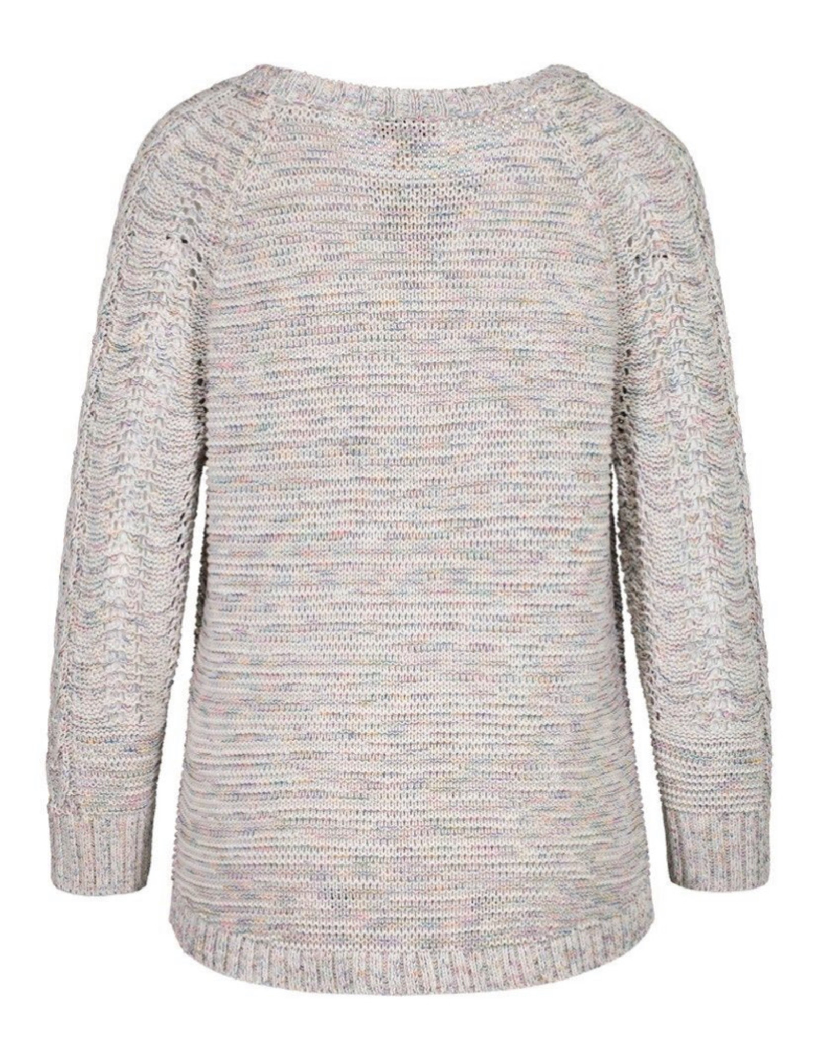 3/4 sleeve scoopneck sweater