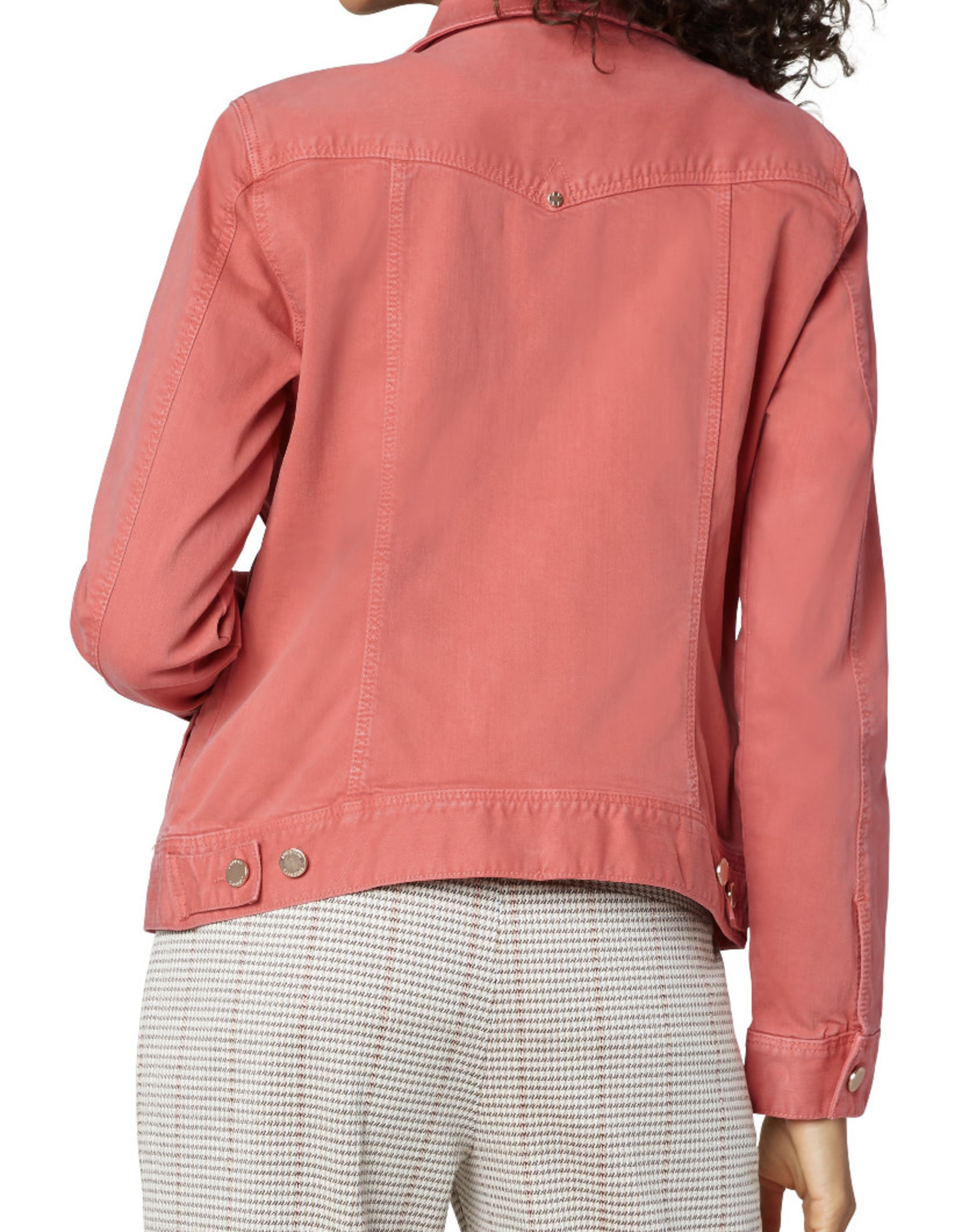 Liverpool Classic jean jacket Hot Coral