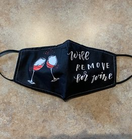 Two Old Bags Will remove for wine mask