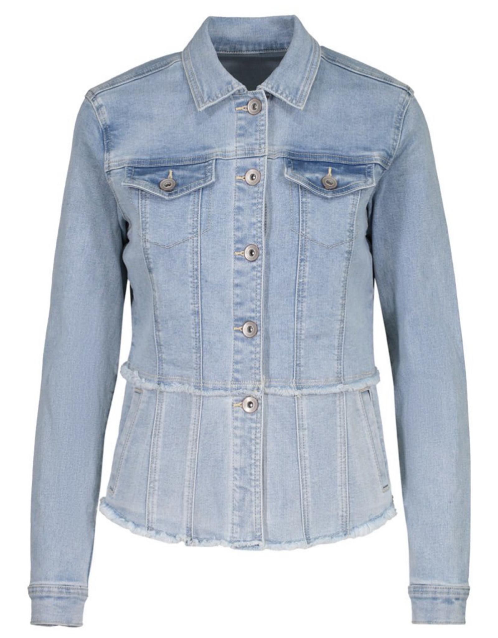 Flirty jean jacket Desert Blue