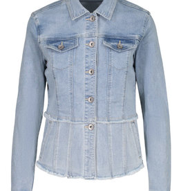 Flirty jean jacket Desert Blue