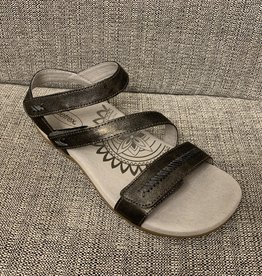 Aetrex Gabby sandal Pewter